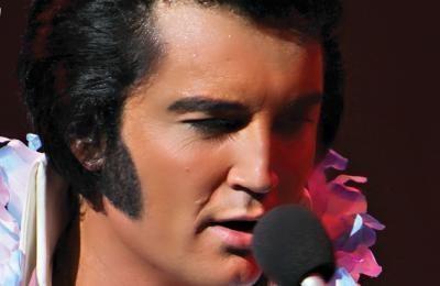 The King is Back- Ben Portsmouth is Elvis