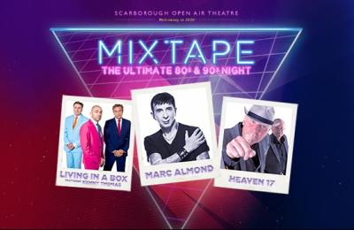 Mixtape featuring Marc Almond, Heaven 17 and Living in a Box