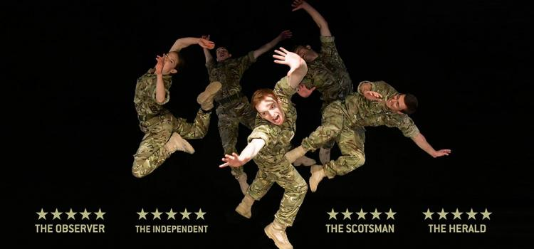 The secret life of soldiers:  Rosie Kay brings 5-star show to Stephen Joseph Theatre