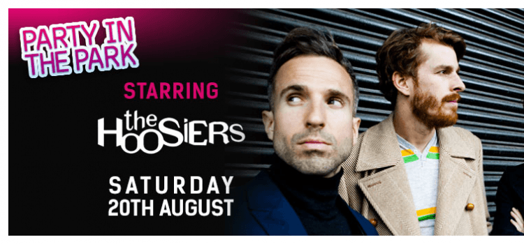 THE HOOSIERS TO HEADLINE FLAMINGO LAND CONCERT ON 20TH AUGUST