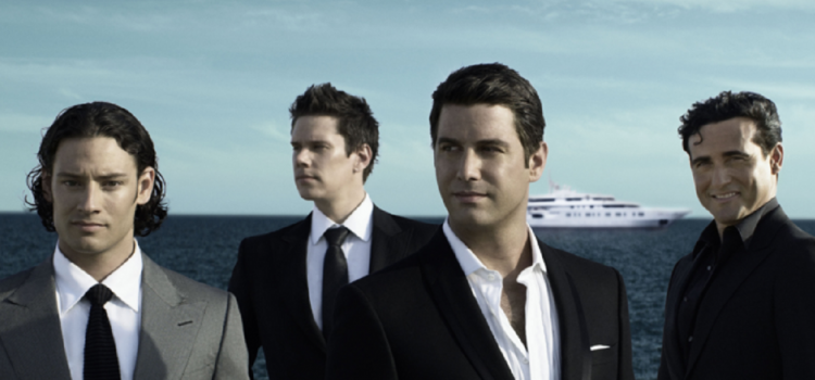Il Divo are the latest act to be announced for Scarborough Open Air Theatre, Summer 2018!
