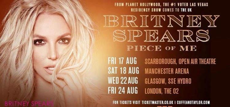 Britney Spears Support Act Has Been Announced