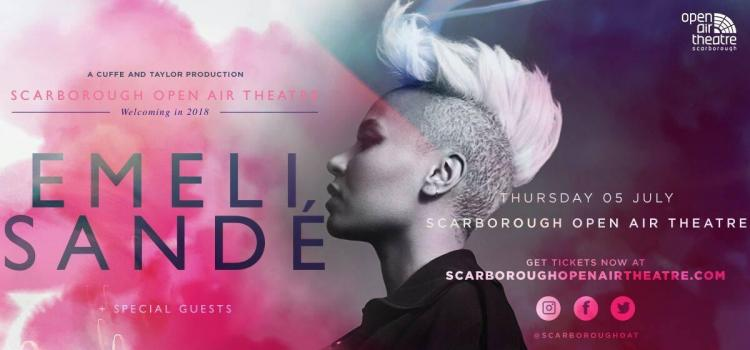 Emeli Sandé to hit the sands of Scarborough