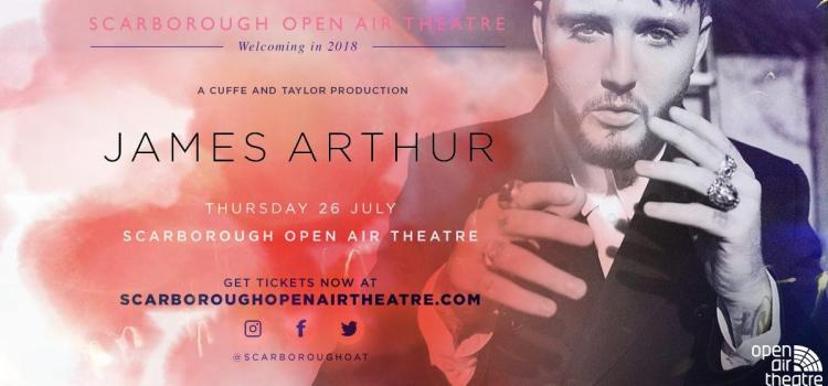 James Arthur announcement closes the week of Scarborough Open Air Theatre announcements
