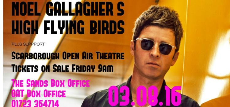 Noel Gallagher's High Flying Birds at OAT