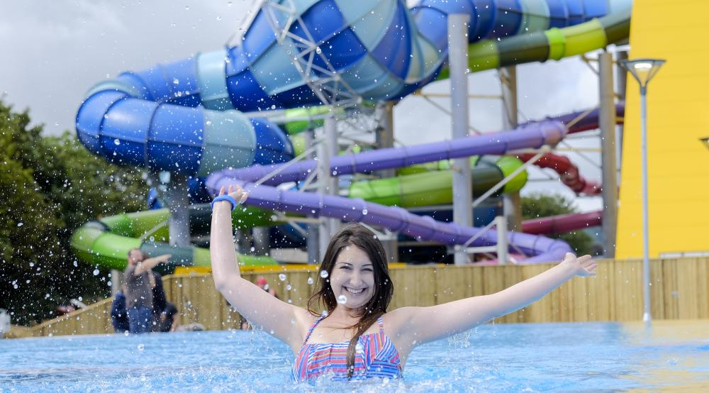 Alpamare waterpark scarborough what2do where2go Scarborough campsites with swimming pool
