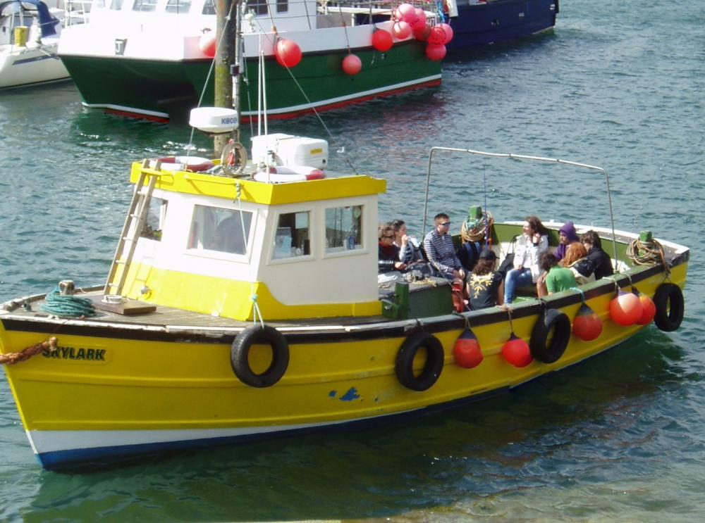 Skylark boat fishing trips what2do where2go for Fishing boat trips